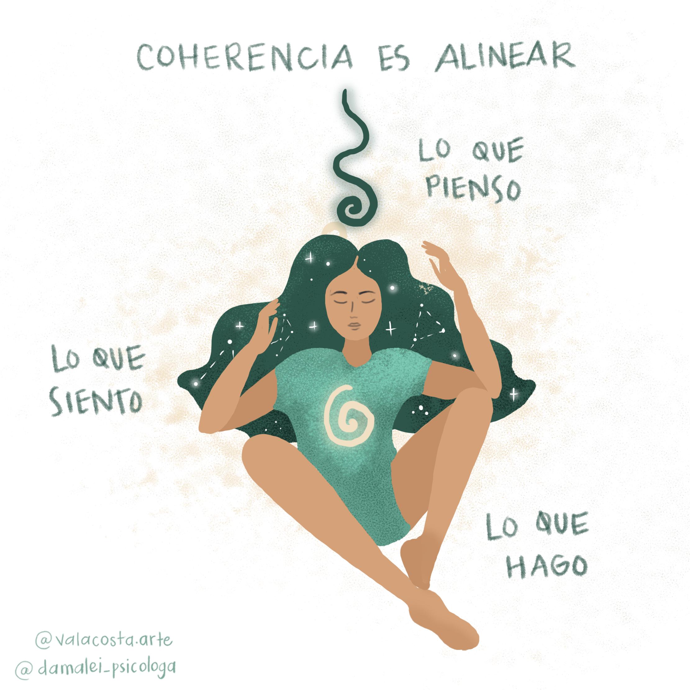 cómo sentir la coherencia de una forma saludable
